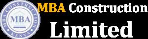 MBA Construction limited Logo